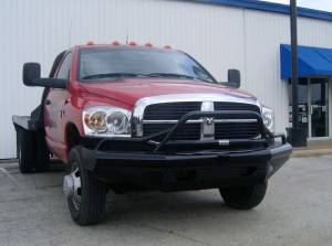 Brush Guards & Bumpers - Front Bumpers - Ranch Hand - Ranch Hand Legend Bullnose Bumper, Dodge (2006-09) 2500/3500 & 1500/2500 Mega Cab