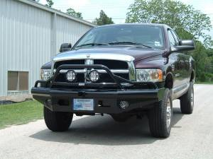 Brush Guards & Bumpers - Front Bumpers - Ranch Hand - Ranch Hand Legend Bullnose Bumper, Dodge (2002-05) 1500