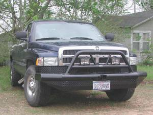 Brush Guards & Bumpers - Front Bumper Replacement Brush Guards - Ranch Hand - Ranch Hand Legend BullnoseBumper, Dodge (2001-94) 1500 & (94-02) 2500/3500