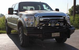 Brush Guards & Bumpers - Front Bumpers - Ranch Hand - Ranch Hand Legend Bullnose Bumper, Ford SD (2011-13) F250/F350/F450/F550
