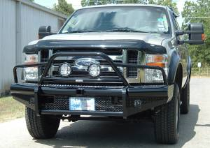 Brush Guards & Bumpers - Front Bumpers - Ranch Hand - Ranch Hand Legend Bullnose Bumper, Ford SD (2008-10) F250/F350/F450/F550