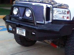 Brush Guards & Bumpers - Front Bumpers - Ranch Hand - Ranch Hand Legend Bullnose Bumper, Ford SD (2005-07) F250/F350/F450/F550