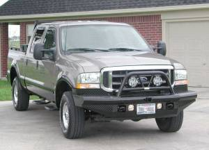 Ranch Hand - Ranch Hand Legend Bullnose Bumper, Ford SD (1999-04) F-250, F-350, F-450, & F-550