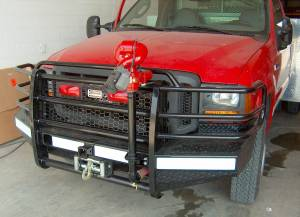 Ranch Hand - Ranch Hand Sport Front Winch Bumper, Ford (2005-07) F-250, F-350, F-450, F-550 & (05) Excursion, 15K