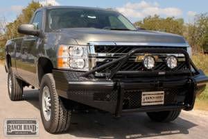 Ranch Hand - Ranch Hand Legend Bullnose Bumper, Chevy (2011) 2500HD/3500HD