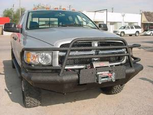 Brush Guards & Bumpers - Front Bumpers - Tough Country - Tough Country Custom Deluxe Front Bumper, Dodge (2002-05) 1500