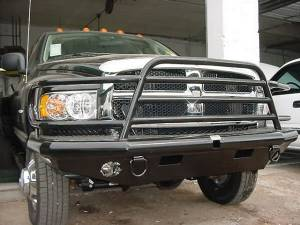 Tough Country - Tough Country Custom Deluxe Front Bumper, Dodge (2003-05) 2500 & 3500