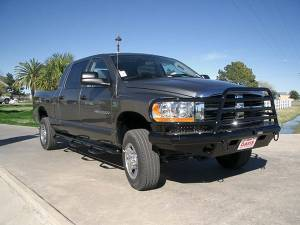 Tough Country - Tough Country Custom Deluxe Front Bumper, Dodge (2006-08) 1500 (non-Mega Cab)