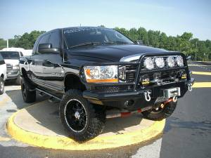 Tough Country - Tough Country Custom Deluxe Front Bumper, Dodge (2006-09) 1500 Mega Cab, 2500 & 3500