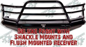 Tough Country - Tough Country Deluxe Front Bumper Replacement, Ford (1992-97) F-250 - F-350