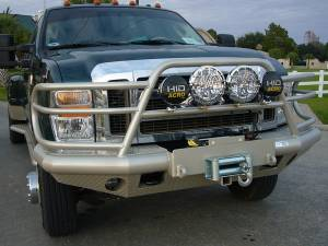 Tough Country - Tough Country Custom Deluxe Front Bumper, Ford (2008-10) F-250 & F-350
