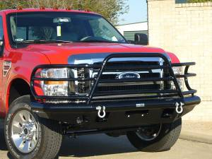 Tough Country - Tough Country Custom Deluxe Front Bumper, Ford (2008-10) F-450 & F-550