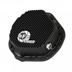 Axles & Axle Parts - Differential Covers - aFe - aFe Rear Differential Cover, Dodge/GM AA-14-11.5, Black Fins