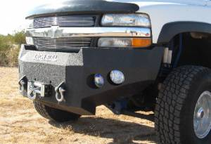 Brush Guards & Bumpers - Front Bumpers - Iron Bull Bumpers - Iron Bull Front Bumper, Chevy (1999-02) 1500, (00-06) Tahoe/Suburban