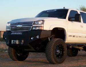 Brush Guards & Bumpers - Front Bumpers - Iron Bull Bumpers - Iron Bull Front Bumper, Chevy (2003-07) 1500