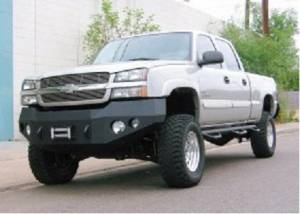 Brush Guards & Bumpers - Front Bumper Replacement Brush Guards - Iron Bull Bumpers - Iron Bull Front Bumper, Chevy (2003-07) 2500/3500