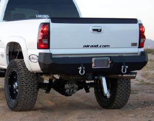 Brush Guards & Bumpers - Rear Bumpers - Iron Bull Bumpers - Iron Bull Rear Bumper, Chevy (2003-07) 1500