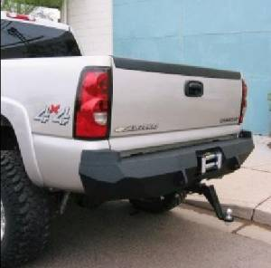 Brush Guards & Bumpers - Rear Bumpers - Iron Bull Bumpers - Iron Bull Rear Bumper, Chevy (2003-07) 2500/3500
