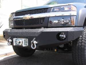 Brush Guards & Bumpers - Front Bumper Replacement Brush Guards - Iron Bull Bumpers - Iron Bull Front Bumper, Chevy (2004-11) Colorado