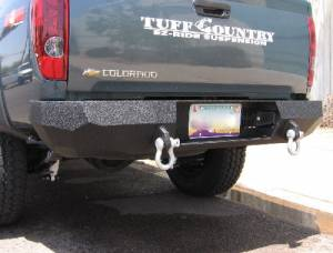 Brush Guards & Bumpers - Rear Bumpers - Iron Bull Bumpers - Iron Bull Rear Bumper, Chevy (2004-11) Colorado