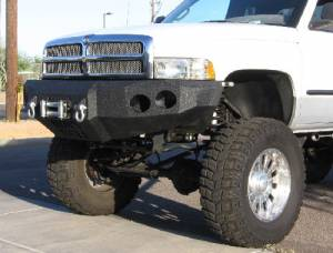 Brush Guards & Bumpers - Front Bumper Replacement Brush Guards - Iron Bull Bumpers - Iron Bull Front Bumper, Dodge (1994-02) 1500/2500/3500