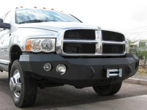 Brush Guards & Bumpers - Front Bumper Replacement Brush Guards - Iron Bull Bumpers - Iron Bull Front Bumper, Dodge (2003-05) 2500/3500