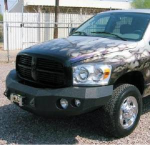 Brush Guards & Bumpers - Front Bumpers - Iron Bull Bumpers - Iron Bull Front Bumper, Dodge (2006-09) 2500/3500