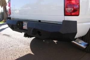 Brush Guards & Bumpers - Rear Bumpers - Iron Bull Bumpers - Iron Bull Rear Bumper, Dodge (2006-09) 2500/3500