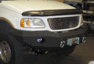 Brush Guards & Bumpers - Front Bumper Replacement Brush Guards - Iron Bull Bumpers - Iron Bull Front Bumper, Ford (1997-03) F-150/Expedition