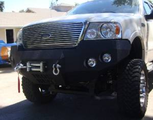 Brush Guards & Bumpers - Front Bumpers - Iron Bull Bumpers - Iron Bull Front Bumper, Ford (2004-08) F-150