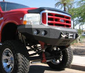 Brush Guards & Bumpers - Front Bumpers - Iron Bull Bumpers - Iron Bull Front Bumper, Ford (2005-07) Superduty