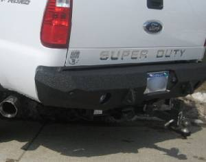 Iron Bull Bumpers - Iron Bull Rear Bumper, Ford (2008-10) Superduty