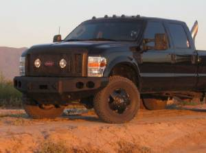 Brush Guards & Bumpers - Front Bumpers - Iron Bull Bumpers - Iron Bull Front Bumper, Ford (2008-10) Superduty