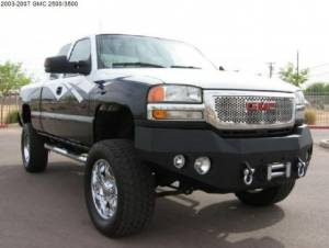 Brush Guards & Bumpers - Front Bumpers - Iron Bull Bumpers - Iron Bull Front Bumper, GMC (2003-07) 2500/3500