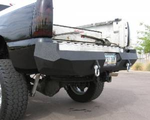 Brush Guards & Bumpers - Rear Bumpers - Iron Bull Bumpers - Iron Bull Rear Bumper, GMC (2003-07) 2500/3500
