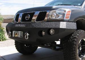 Brush Guards & Bumpers - Front Bumpers - Iron Bull Bumpers - Iron Bull Front Bumper, Nissan (2004-12) Titan & (2004-09) Armada