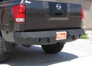 Brush Guards & Bumpers - Rear Bumpers - Iron Bull Bumpers - Iron Bull Rear Bumper, Nissan (2004-12) Titan