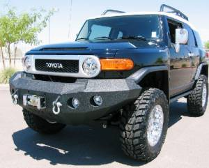 Brush Guards & Bumpers - Front Bumpers - Iron Bull Bumpers - Iron Bull Front Bumper, Toyota (2006-11) FJ Cruiser