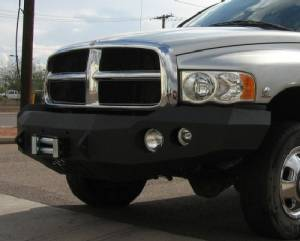 Brush Guards & Bumpers - Front Bumper Replacement Brush Guards - Iron Bull Bumpers - Iron Bull Front Bumper, Dodge (2002-05) 1500