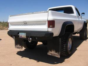 Brush Guards & Bumpers - Rear Bumpers - Iron Bull Bumpers - Iron Bull Rear Bumper, Chevy (1988-00) Truck/SUV