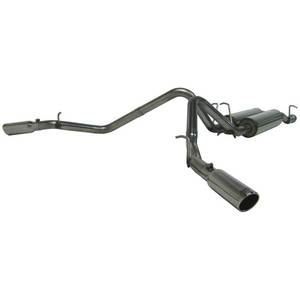 "Exhaust - 3"" Cat Back Exhaust - MBRP - MBRP Cat Back Exhaust, Chevy/GMC (2003-07) 2500HD 6.0L CC-SB, Dual Split Side, T409 Stainless"
