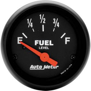 "2-1/16"" Gauges - Auto Meter Z-Series - Autometer - Auto Meter Z-Series, Fuel Level (Short Sweep Electric)"
