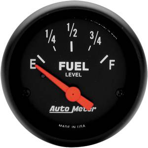 "2-1/16"" Gauges - Auto Meter Z-Series - Autometer - Auto Meter Z-Series, Fuel Level (Short Sweep Electric)"