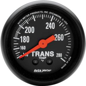 "2-1/16"" Gauges - Auto Meter Z-Series - Autometer - Auto Meter Z-Series, Trans Temperature 140*-280*F (Mechanical)"