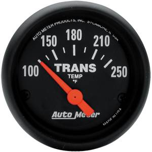 "2-1/16"" Gauges - Auto Meter Z-Series - Autometer - Auto Meter Z-Series, Trans Temperature 100*-250*F (Short Sweep Electric)"