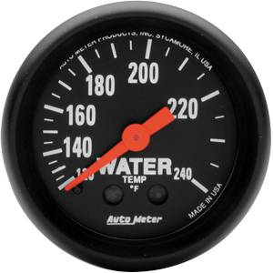 "2-1/16"" Gauges - Auto Meter Z-Series - Autometer - Auto Meter Z-Series, Water Temperature 120*-280*F (Mechanical)"
