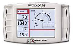 Gauges - Digital Screen Gauges - Bully Dog - Bully Dog WatchDog, ALL 1996 & newer vehicles w/ OBDII port (White)