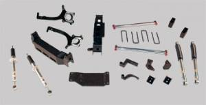 "RCD Suspension - RCD Suspension Lift Kit, Toyota (2007-09) Tundra, 4"" or 6"" adjustable (2wd & 4wd)"