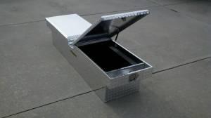 """Pro Maxx - Pro Maxx Truck Tool Box, 72""""L x 19""""W x 13""""H Aluminum Diamond Plate, Gull Wing - Image 2"""