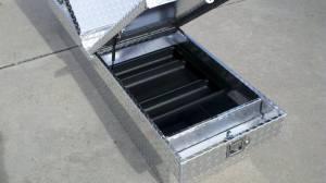 """Pro Maxx - Pro Maxx Truck Tool Box, 72""""L x 19""""W x 13""""H Aluminum Diamond Plate, Gull Wing - Image 4"""